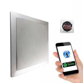 Kit Caixa Som Ambiente Casa Bluetooth Quadrada Ativa