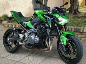 Motocicleta Kawasaki Modelo Z900 Abs (1.405 Km Rodados)