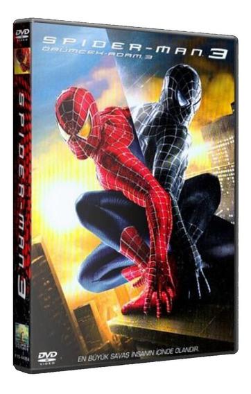 Spider-man 3 - Pc Dvd - Mídia Física - Frete 8 Reais