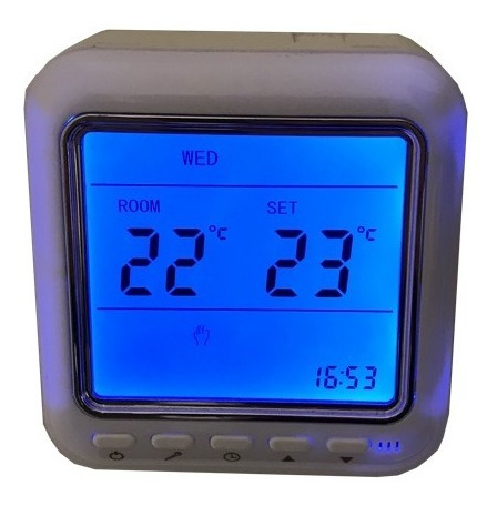 Controlador De Temperatura Calefacción Termostato Digital