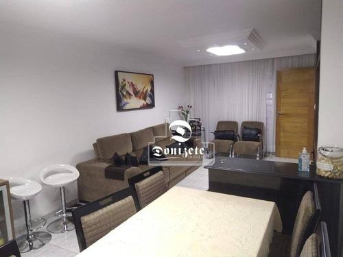 Casa Com 3 Dormitórios À Venda, 200 M² Por R$ 650.000,00 - Vila Valparaíso - Santo André/sp - Ca1257