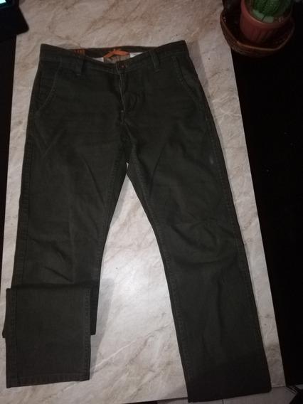 Pantalón Dockers Skinny Para Hombre Color Verde