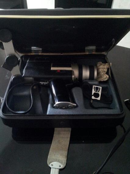 Filmadora Canon Super 8 Impecavel+iluminação Proficional