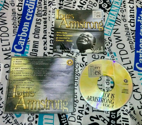 Louis Armstrong : The Very Best - Vol 1 - Original