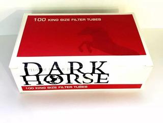 1000 Tubos Con Filtro Para Llenar Dark Horse / Maxtabacos
