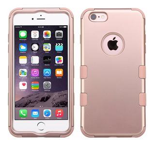 Funda Uso Rudo iPhone 6 Plus /6s Plus Rose Gold Envío Gratis
