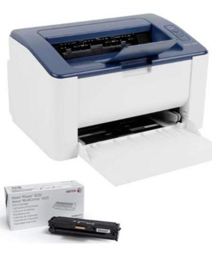 Impresora Xerox 3020 +toner Xerox 3020 Original 1500 Copias