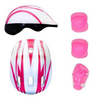 Protecciones Para Patines Rollers Casco Codera T Soy Luna