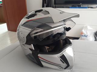Casco De Moto Givi Doble Propósito Con Gafa Y Vicera Oferta