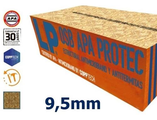 Imagen 1 de 1 de Osb Estructural 9,5mm Lp Apa Osorno