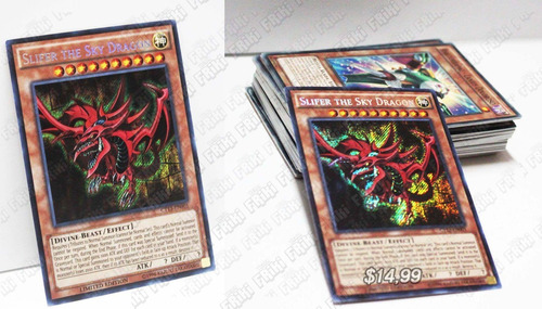 Set Anime Yu-gi-oh, Slyfer The Sky Dragon (tienda Friki)