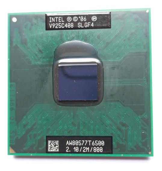 Processador Inter Core 2 Duo T6500, 2m Cache, 2.10 Ghz, 800
