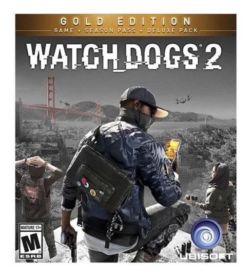 Watch Dogs 2 Gold - Pc Mídia Digital