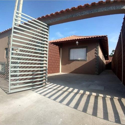 Casa Com 2 Dormitórios À Venda, 65 M² Por R$ 16.900 - Jussara - Mongaguá/sp - Ca0783