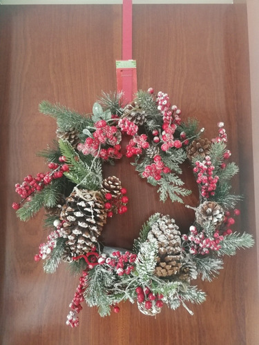Gancho Corona Guirnalda, Decoración Navidad, Importado