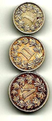 1-2 Y 5 Cvs Porfiristas 1883