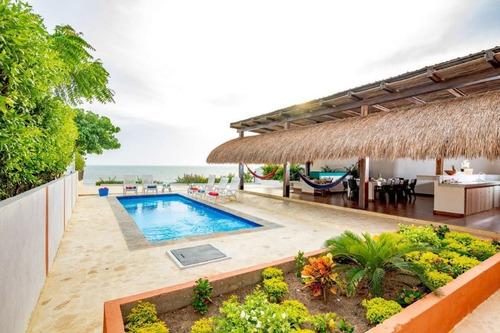 Linda Casa De Playa En Renta Por Día Cartagena