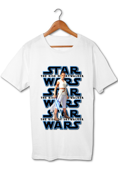 Rey Star Wars The Rise Of Skywalker Remera Friki Tu Eres