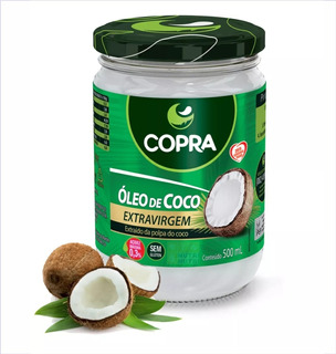 Kit 10 - Óleo De Coco Extra Virgem 500ml Copra - Atacado