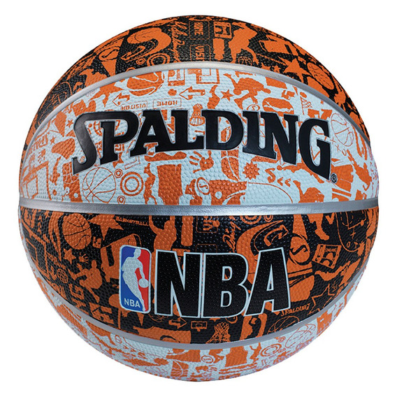 Pelota Basketball Spalding Oficial N°7 Balón Basquetbol