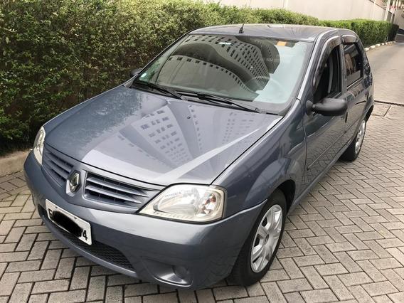 Renault Logan 1.6 Expression - 2009 - Completo - Conservado