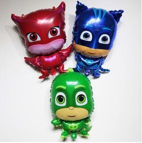 30 Balões Pj Masks (frete Grátis) Menor Preço