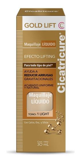 Cicatricure Gold Lift Base Maquillaje Líquido Light X 30 Ml