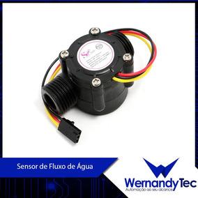 Sensor De Fluxo, Vazão De Água 1/2 1-30 L/min, P/ Arduino