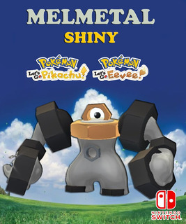 Melmetal Shiny Competitivo - Pokémon Let