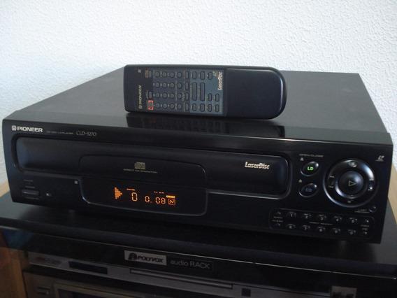 Ld Pioneer Cld-s270 - Com Controle Remoto E + 15 Discos Ld