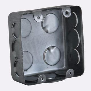 Kit 30 Caixa De Luz 4x4 Aço Galvanizado, Caixinha Luz 4x4