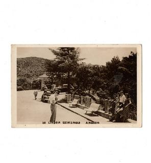 Cartao Postal Fotografico Aguas De Lindoia Wessel Anos 50