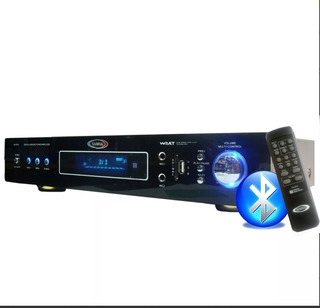 Consola Amplificador Bluetooth Usb/sd/fm/aux 014 Con.r.