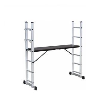 Escalera Andamio Kushiro Aluminio Multifunción 8 Escalones