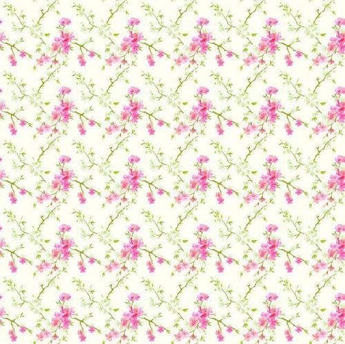 Imagem 1 de 1 de Papel Adesivo Plastcover Flor Cerejeira 45 Cm X 10 Metros