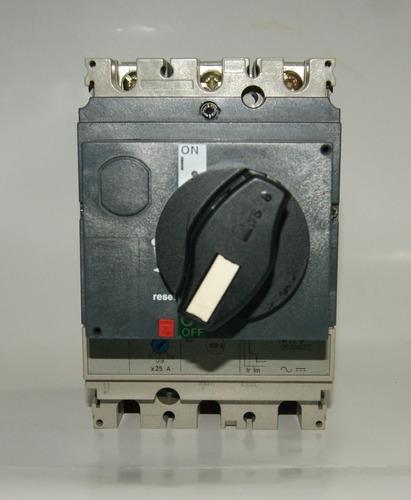 Interruptor 25 Amp Mando Rotativo Ns100n Tm 25d 00213