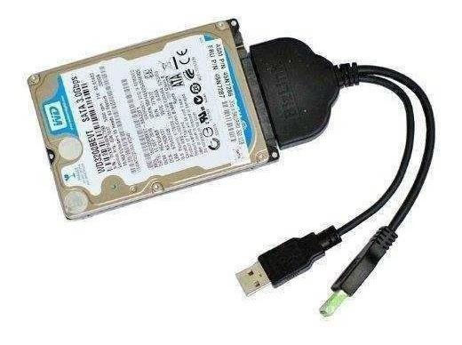 Conversor Hd Sata Notebook 500gb 750gb 1tb 2tb 4tb Usb 3.0