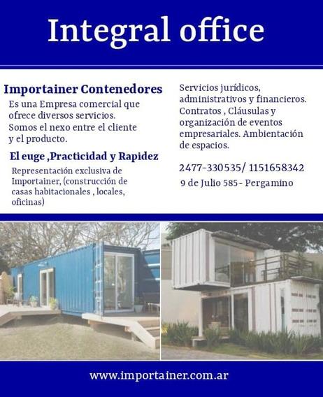 Contenedores Depositos Obradores Campo Chacra 34
