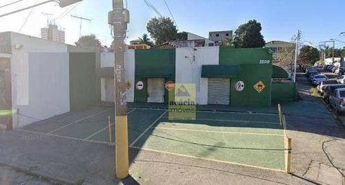 Salão Para Alugar, 150 M² Por R$ 5.000,00/mês - Vila Mangalot - São Paulo/sp - Sl0160