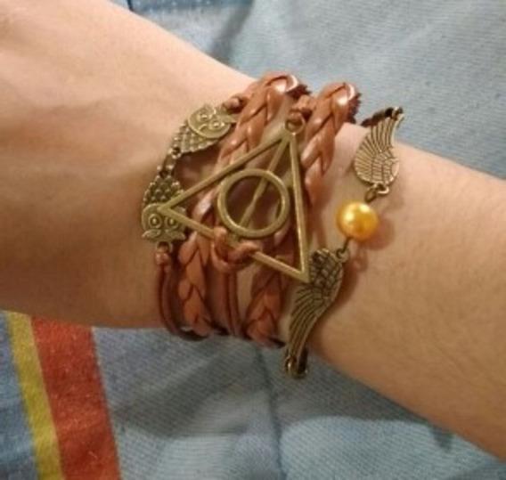 Pulseira Harry Potter Reliquias Da Morte