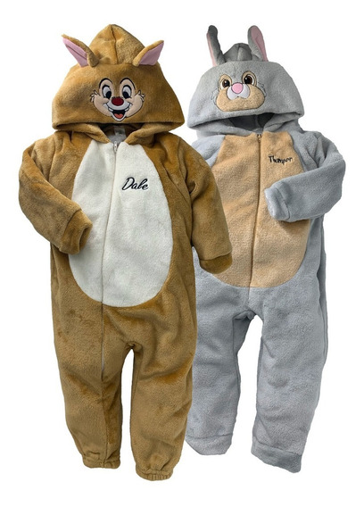 Kit 2 Mamelucos Disney Dale Y Thumper