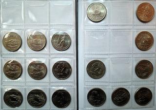 Moneda Cuarto Dolar Parques 2010-2018 Usa Vf-unc Ceca D Y P