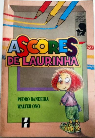 Livro As Cores De Laurinha - Pedro Bandeira