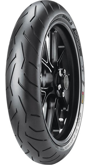 Pneu De Moto Pirelli 100/80r17 Diablo Rosso Ii 52h Dianteiro
