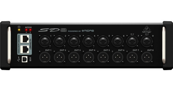 Conversor Digital 8 In/8 Out Digital Snake Sd8 - Behringer