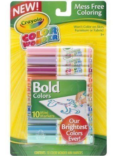 Marcadores Mini Color Wonder Crayola X10