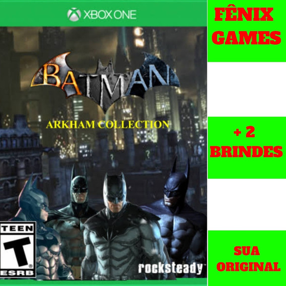 Batman Arkham Collection Xbox One + 2 Jogos De Brinde