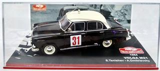 Rally Montecarlo Volga M21 S.tenishev 1964 - 1/43 Ixo Altaya