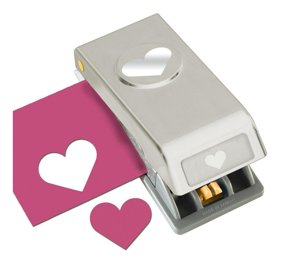 Perforadora De Corazón 2.54 Cm Amor Troquel Cortar Papel Ek