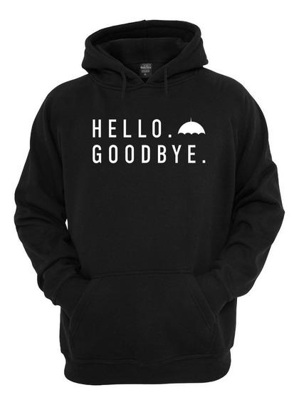 Blusa Moleton The Umbrella Academy: Casaco Hello Goodbye